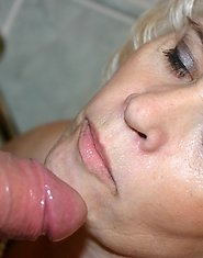 mature cum slut